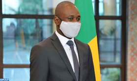 Lieutenant General, FAR Inspector General Receives Colonel Assimi Goïta, Malian Vice-President