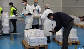 Casablanca: Distribution of Coronavirus Vaccine in Regions Starts