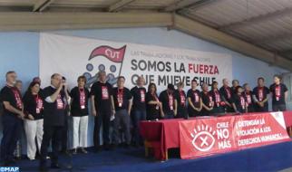 Santiago: Marruecos participa en el 12º Congreso Nacional de la Central Unitaria de Trabajadores de Chile