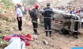 Accidentes de tráfico: 20 muertos y 1.786 heridos en el perímetro urbano la semana pasada