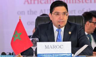 Bourita: Marruecos se congratula de la confianza de la UE y aprecia su gesto de solidaridad
