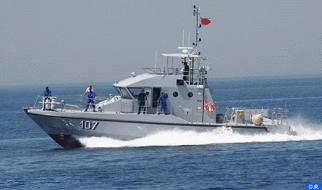 Nador: La Marina Real rescata a 50 inmigrantes clandestinos