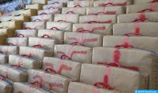 El Guergarat: Abortado un intento de tráfico de 513 kilos de chira (DGSN)