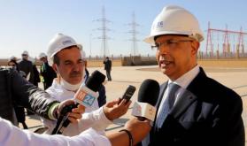 La nueva planta de desalinización de agua de mar contribuirá a satisfacer las necesidades de agua de Laayún hasta 2040 (DG ONEE)