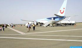 Aeropuerto de Dajla: Cae más del 26,34% el tráfico aéreo en el primer semestre de 2021 (ONDA)
