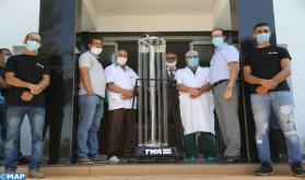 Fez: Una empresa desarrolla máquinas de desinfección ultravioleta