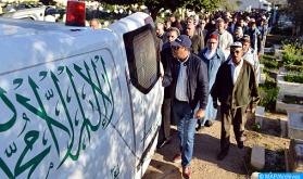 Conmovedor funeral en Marrakech del artista y comediante Abdelyabbar Louzir