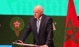 Llega a Marruecos el presidente de la FIFA, Gianni Infantino