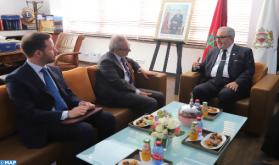 El director general de la MAP se entrevista con el embajador de Italia en Marruecos