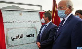 Tetuán: Amzazi visita las obras de construcción de la escuela primaria Mohammed Errami