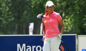 Golf: La marroquí Maha Haddioui sobresale en el Abierto de España