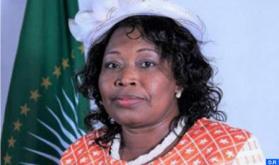 Una alta responsable de la UA resalta la contribución del Reino durante su mandato en el CPS y su presidencia de esta instancia