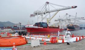 Sube más del 31% el tráfico comercial en el puerto de Safi a finales de agosto
