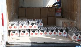 Incautación en Fez de 55.000 botellas de bebidas alcohólicas, tres individuos detenidos