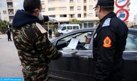 Aplicación del estado de emergencia sanitaria: 2.993 personas detenidas en las últimas 24 horas (DGSN)