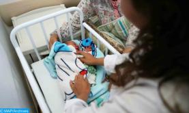 Una mujer infectada por coronavirus da a luz en Tánger