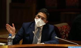 Bourita participa en una reunión de la delegación ministerial del Comité de la Iniciativa de Paz Árabe