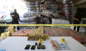 Importante incautación de chira en Fez, dos individuos detenidos en las redadas policiales
