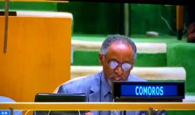 La Unión de las Comoras reitera su apoyo a la marroquinidad del Sáhara y a la iniciativa de autonomía