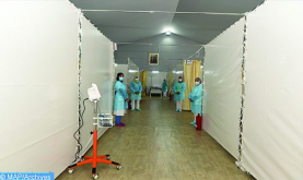 Laayún: Inaugurado un hospital de campaña anti-Covid