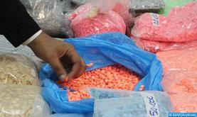 Tánger-Med: Frustrado un intento de tráfico de 2.295 comprimidos psicotrópicos a bordo de un camión matriculado en Marruecos (DGSN)