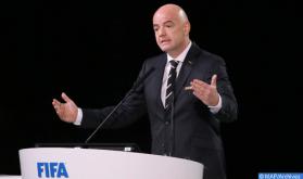 Promoción del fútbol nacional: el presidente de la FIFA expresa su agradecimiento a SM el Rey