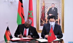 Marruecos y Malawi firman cuatro acuerdos de cooperación en diversos ámbitos