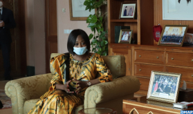 Crisis en Libia: La ministra centroafricana celebra los esfuerzos de Marruecos que condujeron a los acuerdos de Bouznika