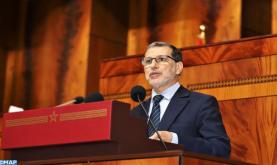 El Otmani destaca las medidas de acompañamiento de la generalización de la protección social