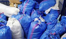 Desmantelada en Tánger una fábrica clandestina de bolsas de plástico