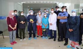 Covid-19: 9 nuevas recuperaciones en el CHU Mohammed VI de Marrakech, 97 en total