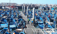 Amplia operación de desinfección del puerto de Essaouira después de su cierre debido a la Covid-19