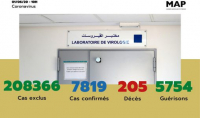COVID-19: 12 nuevos casos confirmados en Marruecos, 7.819 en total (Ministerio)