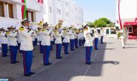 Ceremonia en la sede del Estado Mayor General de las FAR en Rabat con motivo del 65º aniversario de la creación de las FAR