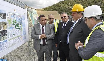 Le ministre de l'Agriculture s'informe sur l'état d'avancement du chantier d'aménagement hydro-agricole du périmètre d'irrigation du barrage Dar Khrofa