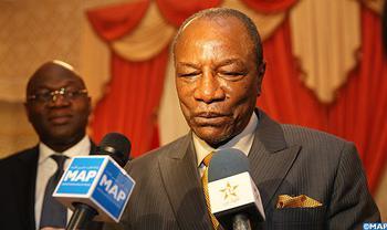 Le président guinéen met en avant le progrès notable accompli par le Maroc dans le domaine agricole depuis l'adoption du Plan Maroc Vert (PMV)