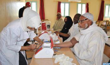 Tata : Quelque 130 bénéficiaires d'une caravane médicale de la Fondation Mohammed VI