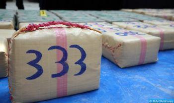 Guelmim: Saisie de 3 tonnes de chira à bord d'un camion de transport routier de marchandises