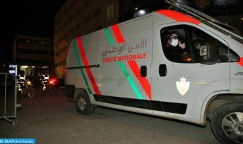 Mehdia: des policiers contraints d'user de leurs armes pour interpeller un individu qui mettait en danger la sécurité de citoyens