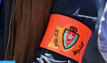 Casablanca: Un brigadier de police contraint d'utiliser son arme pour interpeller un individu ayant menacé la sécurité de citoyens et de policiers (DGSN)