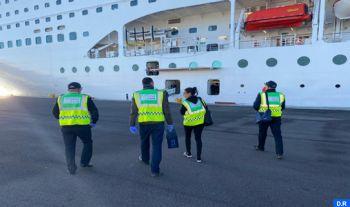 Les officiers de santé opérant au niveau des points de passage mobilisés pour le contrôle des activités d'import-export