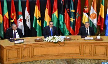 Conférence régionale de haut niveau au Caire sur les questions constitutionnelles et juridiques en Afrique avec la participation du Maroc