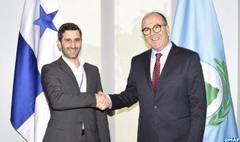 M. Benchamach tient des entretiens à Panama avec le président du Parlasur