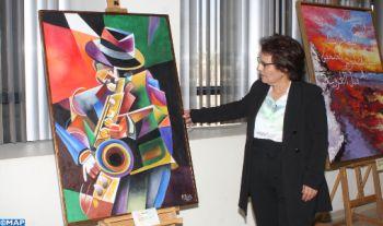 Oujda : Première exposition individuelle de l'artiste peintre Fatiha Rabhi