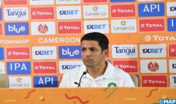 """CHAN-2021 (Maroc-Rwanda): """"les équipes que nous affrontons optent pour un retranchement excessif en défense"""" (Ammouta)"""