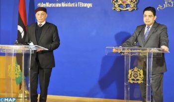 """Pour le Maroc, l'accélération de la formation du gouvernement provisoire en Libye est un """"élément essentiel"""" pour la gestion de la période de transition (M. Bourita)"""