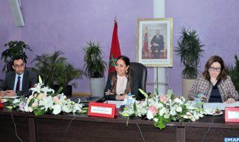 Mme Bouchareb préside une réunion consacrée à l'état d'avancement des différents projets d'habitat