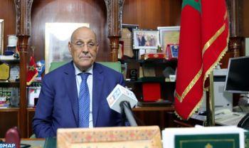 Biographie de Moulay Hamdi Ould Errachid, président de la commune de Laâyoune
