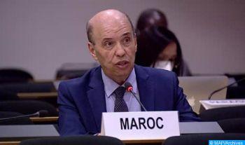 Le Maroc s'inscrit, conformément à ses priorités, dans une perspective diplomatique multilatérale (ambassadeur)
