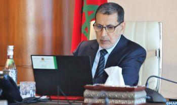 M. El Otmani préside la 2è réunion du Comité de pilotage du programme national 2020-2027 d'approvisionnement en eau potable et d'irrigation